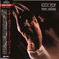 IGGY POP-NEW VALUES-JAPAN MINI LP CD F56