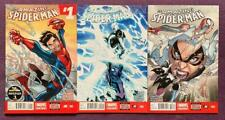 Amazing Spider-man #1 to #3. (Marvel 2014) 3 x high grade issues.