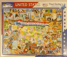 White Mountain 1000 Piece Puzzle United States Of America 290