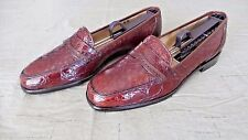 RARE! Men's $1,800 Bragano Cole Haan Crocodile Alligator Loafers Boots Shoe Polo
