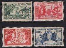 French Polynesia 1937 Paris Exposition set Sc# 117-22 mint