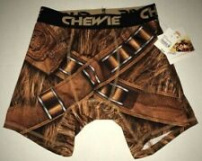 "Star Wars Chewbacca ""Chewie"" print Men's Boxer Briefs Underwear NEW sz S SOLO"