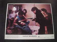 YEAR OF THE DRAGON, nr mint NSS color set [Mickey Rourke, John Lone]