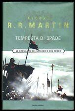 G.R.R.Martin IL TRONO DI SPADE: TEMPESTA DI SPADE 1a Ediz. Mondadori 2002