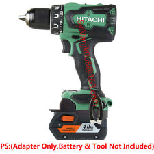 1PCS Ridgid 18V HYPER Battery Convert To Hitachi 18V Li-Ion Drill Tools Adapter