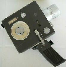 *1970`s RICOH AUTO ZOOM STAR 8mm CINE CAMERA, MOTOR/FILM RUN BUTTON WORKING OK**