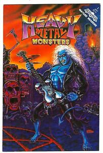 Heavy Metal Monsters #1 (1992) FN/VF-VF 1st Print  Stormon - Jackson - Shapiro
