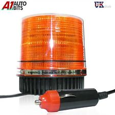 12V 26 LED Magnetic Flashing Amber Beacon Lorry Car Van Tractor Forklift Digger
