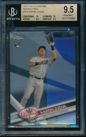 2017 Topps Chrome Aaron Judge Refractor BGS 9.5 Gem Mint RC Card #169 Rookie NYY
