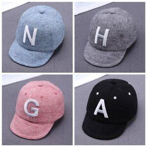 AU Toddler Kid Baby Boy Girls Baseball Cap Unisex Embroidery Cotton Snapback Hat