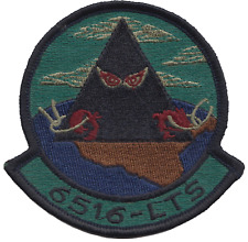 USAF 6516th Test Squadron Embroidered Patch ** LAST FEW **