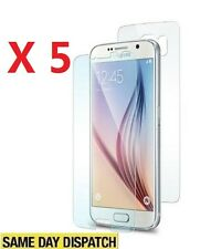Anti-scratch 5 Front and Back Clear Screen Protectors Film for Samsung Galaxy S6