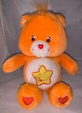 """Care Bears Orange Singing Talking Laugh a Lot Plush Stuffed Animal Toy 2003 13"""""""