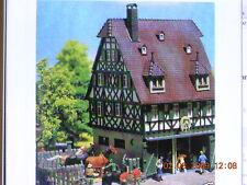 Faller HO 131282 Fachwerk alte Dorfschmiede m. Garage Bausatz NEU