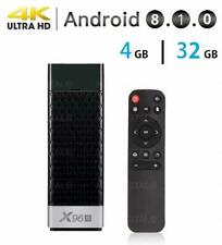 X96S ANDROID 8.1 TV DONGLE 4GB+32GB AMLOGIC S905X2 STICK BOX 4K HD 5G DUAL WIFI