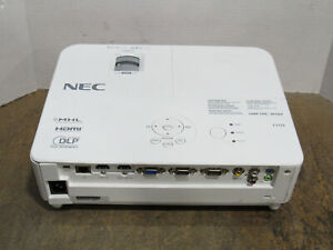 NEC V332X DLP XGA Projector 3300 Lumens w/ 170 Lamp Hours Tested and Working