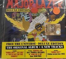 MAJOR LAZER- FREE THE UNIVERSE DELUXE ED *CD NEW SEALED NUOVO SIGILLATO RARO