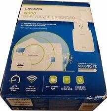 Linksys Single Band 2.4Ghz WiFi Range Extender Booster N300 RE3000W Wireless