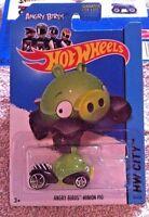 Hot Wheels HW City 2014 Tooned I Angry Birds MINION PIG  - 1:64 - Mattel - New