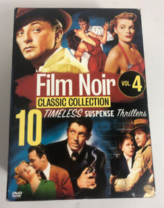 Film Noir Classics Collection Vol. 4 (DVD, 10 Films) Rare OOP They Live By Night