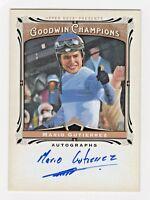2013 UD Goodwin Champions Autograph Mario Gutierrez Kentucky Derby Jockey