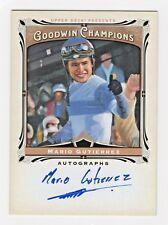 2013 Goodwin Champion Authentic Autograph Mario Gutierrez Kentucky Derby Jockey