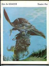 This Is Legend #1 1970-1st issue-Berni Wrightson-Michael Kaluta-Jeff Jones-FN