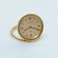 Van Cleef and Arpels Gold Travel Watch