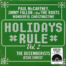 "Paul McCartney - Holidays Rule 7"" Vinyl Black Friday RSD, Green vinyl 2017 NEW"
