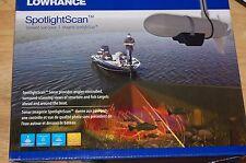 lowrance trolling motor spotlight scan surround transducer sonar 000-11303-001