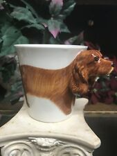 American Cocker Spaniel 3D Coffee Mug Nib Hand Painted Thailand
