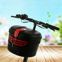 Electric bicycle front frame car basket mountain bike plastic basket special