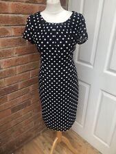 Ladies Autonomy Dress Size 14. Polka Dot / Smart / Casual