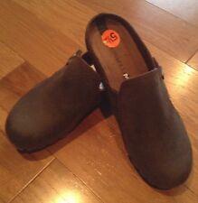 New Merrell women's Haven Slide Slip-On shoes NEW 5.5 5 1/2 brown clogs