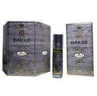 Genuine Al Rehab Dakar 6 x 6ml Oil Perfume Fragrance Roll On Alcohol Free Halal