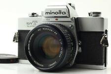 MINOLTA SRT SUPER w/ MC ROKKOR PF 50mm F/1.7 LENS KIT SLR 35mm FILM CAMERA