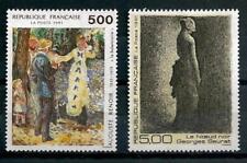 France 1991 série artistique Yvert n° 2692 et 2693 neuf ** 1er choix