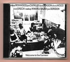 CD ★ TRAFFIC - WELCOME TO THE CANTEEN ★ ALBUM 6 TRACKS ISLAND 1971