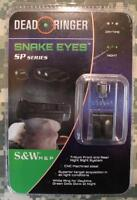 Dead Ringer DR5064 Snake Eyes Tritium Front & Rear Night Sight System S&W M&P