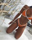 Mujer Acolchado Push-up Set de bikini bañador traje baño piscina playa