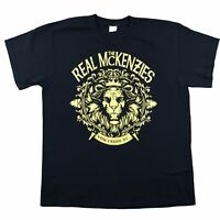 ***The Real McKenzies*** Vancouver DC USA T Shirt Band Tour America Tee