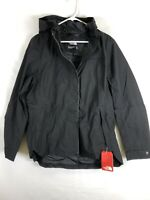 The North Face Ditmas Womens Rain Jacket Black Size XL