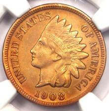 1908-S Indian Cent 1C - Ngc Au Details - Rare Key Date - Certified Penny!
