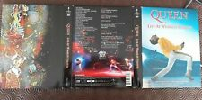 Queen Live at Wembley 2 DVD/ 2 CD deluxe édition