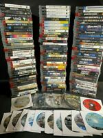 🎮 PS3 GAMES  LOT YOU PICK EM PLAYSTATION 3 CLEANED AND TESTED-  SPECIAL OFFER🎮