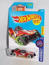 Hot Wheels NEW For 2016 Glow Wheels Series #49 Voltage Spike Red w/ GLOW 5SPs