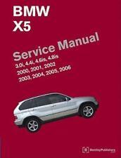 BMW X5 (E53) Service Manual 2000, 2001, 2002, 2003, 2004, 2005 2006 : 3. 0i,...