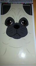 PUG FACE STICKER INDOOR OR OUTDOOR USE BRAND NEW  ON SALE