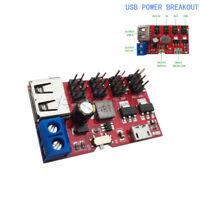USB power breakout POWER 5V to 1.8V/3.3V/5V/9V/12V DC to DC