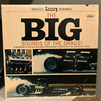"""THE BIG SOUNDS OF THE DRAG (Drag Racing Sounds) - 12"""" Vinyl Record LP - VG+"""